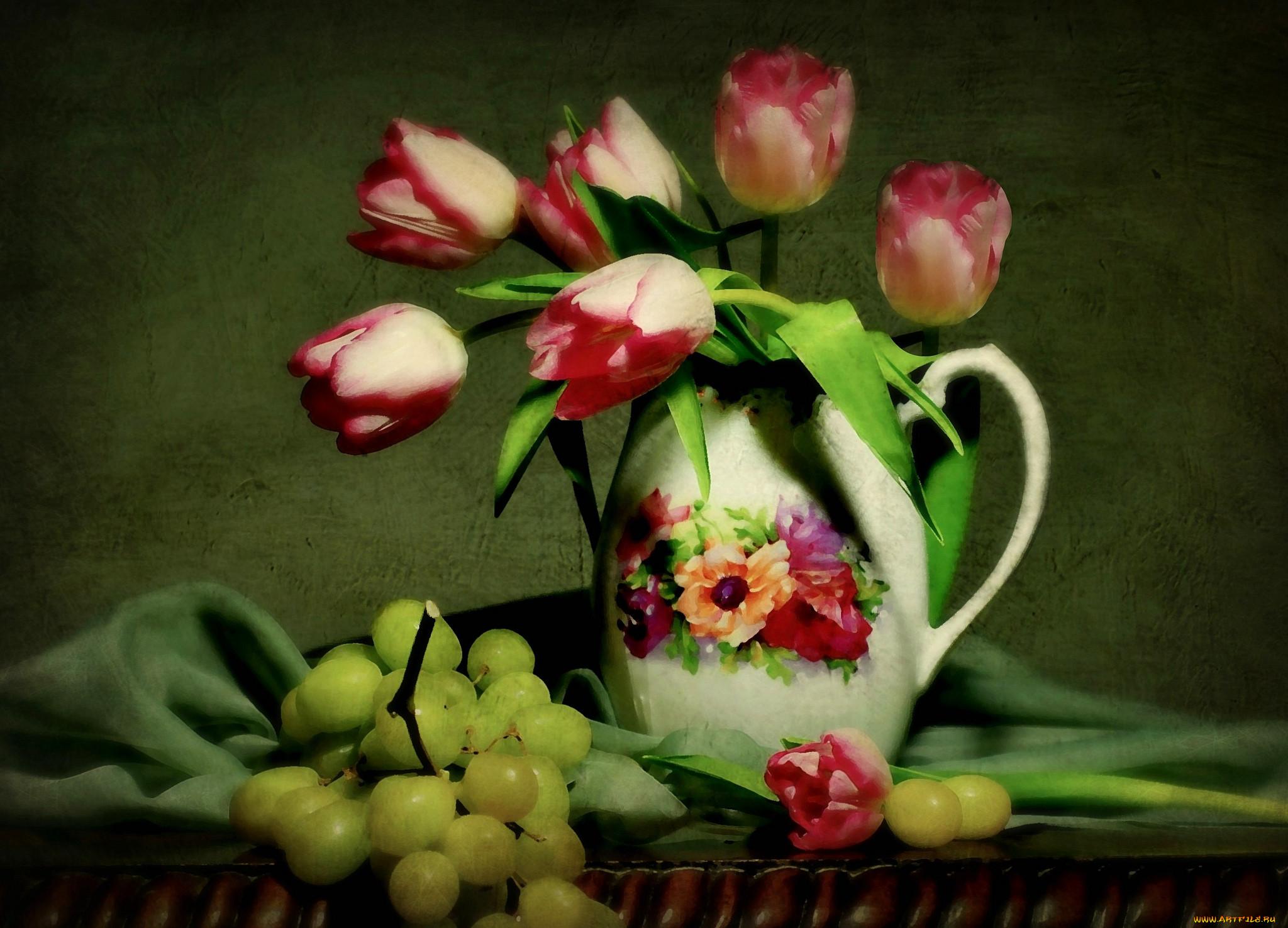 Обои цветы, натюрморт. Разное foto 8